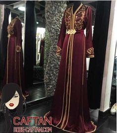 Fashion Arabic Style Illustration Description robe bordeau et or – Read  More – 8a6bec6b6bd
