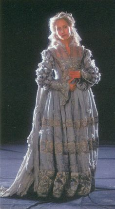 The Gray Lady, ghost of Ravenclaw tower, as she appears in the first two Harry Potter films.