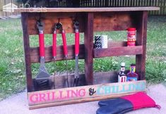 Get Grillin' With These 10 Pallet Barbecue Projects! DIY Pallet Bars