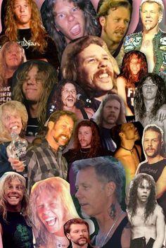 Metallica Albums, Ride The Lightning, Dave Mustaine, Kirk Hammett, James Hetfield, Band Memes, Fine Men, Cliff, Rock N Roll