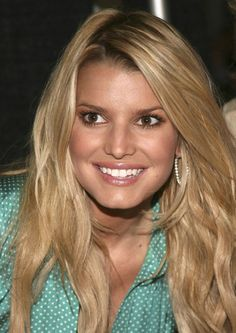 Jessica Simpson Long Hairstyles