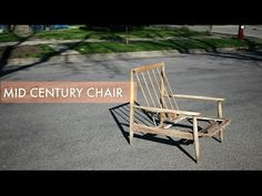 Mid Century Chair Frame Restoration - YouTube Outdoor Chairs, Outdoor Furniture, Outdoor Decor, Mid Century Chair, Furniture Restoration, Frame, Youtube, Home Decor, Picture Frame