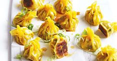 Win over your guests with these delicious pork and water chestnut dumplings.