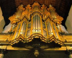 Groote Kerk, Maassluis, The Netherlands. Organ builder: Garrels.