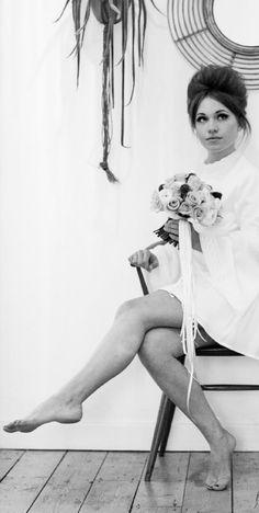 1960s mad men wedding inspiration