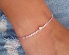 Stern Sie, Silber Armband, tägliches Armband, Geschenk Schmuck