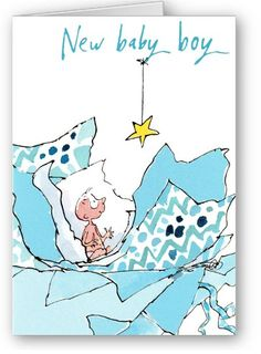 New Baby Boy Card by