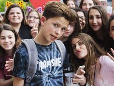 It's safe to say that everyone knows who Jacob Sartorius is right now. In addition to currently being on the Magcon tour alongside hotties Cameron Dallas, Aaron Carpenter and Taylor Caniff every night, the 13-year-old landed in hot water recently when he allegedly harassed a fan to send him nudes and then claimed that it …
