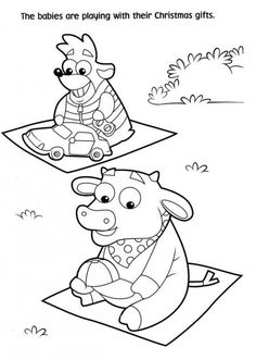 Free Printable Dora Christmas Coloring Pages Picture 21 550x772