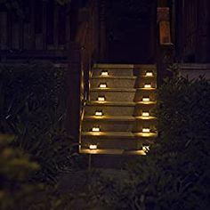 7 Best Solar Step Lights in 2020 (Review) - Solar Works Nola  #solarsteplights #solarlights #solarworksnola #steplights #homedecor #ideas Solar Step Lights, Solar Powered Deck Lights, Deck Steps, Outdoor Steps, Led Lamp, Solar Panels, Wall Lights, Stairs, Fences