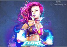 Игровой автомат Flame онлайн с выводом денег  Компания NextGen представила онлайн аппарат Flame, который посвящен тематике фэнтези. Автомат получил 20 игровых линий и большое количество необычных бонусных функций, помогающих часто осуществлять вывод денег. Wonder Woman, Superhero, Anime, Fictional Characters, Women, Art, Art Background, Kunst, Cartoon Movies