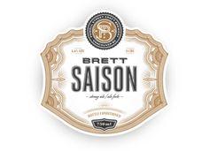 Powell Street Craft Brewery Brett Saison — The Dieline - Branding