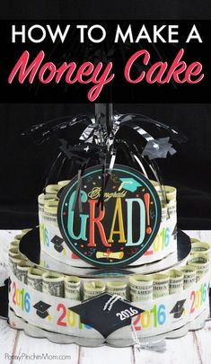 making a cake out of money