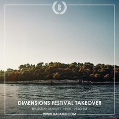いいね!18件、コメント2件 ― DIMENSIONS FESTIVALさん(@dimensionsfestival)のInstagramアカウント: 「We're live on @balamii from 7-9pm BST this evening for a festival takeover with our very own…」