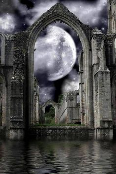 Best Fantasy Art Magic Dreams The Moon Ideas 3d Fantasy, Fantasy Places, Fantasy Kunst, Fantasy Landscape, Fantasy World, Gothic Art, Belle Photo, Dark Art, Mystic