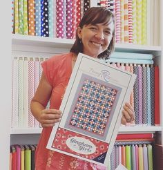 We are thrilled to announce our newest designer   Amy Smart of @diaryofaquilter…