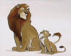 Draw Lions Living Lines Library: The Lion King - Character: Mufasa Lion King 3, The Lion King 1994, Big Cats Art, Cat Art, Character Art, Character Design, Lion Drawing, Le Roi Lion, Disney Concept Art