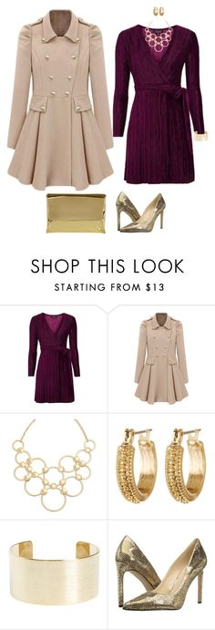 """""""Holiday Party, Fall Party"""" by jnyaface on Polyvore featuring Topshop, Vera Bradley, Melrose & Market, Panacea, Nine West and Coast"""