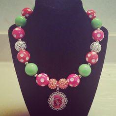 Strawberry Shortcake Custom Made Necklace #girlsnecklace #strawberryshortcake #fashionjewelry #kidsjewelry