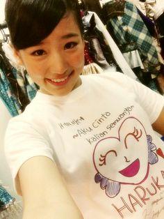 Haruka Nakagawa @HarukaN_JKT48 Hari ini jangan lupa beli ini yaaaa!!! Beli di theater ;)ayoooo semuaaaaa;)  今日劇場でこのTシャツ販売してますー!ぜひきてくださいねー!(⌒▽⌒) pic.twitter.com/uAN1DkCPi1