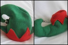 DIY Elf Costume - These little shoes and hat are made from fleece, which is cozy and easy to sew. Make this homemade elf costume for your baby or give it as an early Christmas gift to any little elves in your life.
