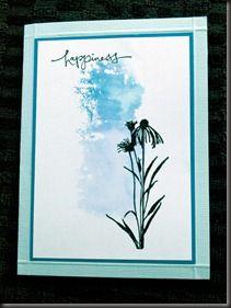 """Ursprünglich als """"Happiness"""" gedacht. Aber ich fände die Karte als Trauerkarte auch ganz toll!"""