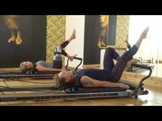 Pilates/Reformer/Allegro/Partner Workout - YouTube
