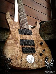 Hufschmid 7 string guitar