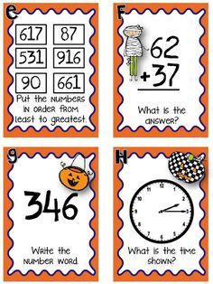 """Here's a little """"I Spy"""" mixed review... Just put the 12 problems up around your room, have your students visit each problem, and write the answers on their recording sheet! It'll get the kids up and moving, and they are sure to stay engaged! Click {HERE} to grab that up for free!"""