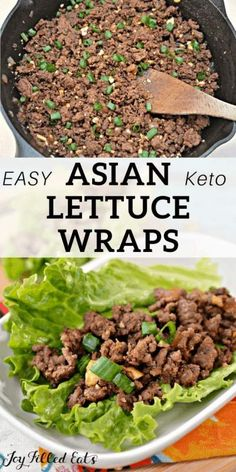 30 Easy Ground Beef Recipes for Dinner (with just few Ingredients) - Recipe Magik Ground Beef Recipes For Dinner, Low Carb Dinner Recipes, Keto Dinner, Ground Beef Keto Recipes, Dinner Healthy, Healthy Ground Beef, Asian Lettuce Wraps, Lettuce Wraps Ground Beef, Chicken Lettuce Wraps