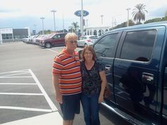 """""""Excellent sales person (Scott Sullivan), we are very satisfied with the great service. We will definitely return for future vehicle purchases."""" Thank you Mr. and Mrs. Sutton, we can't wait to see you again! We hope you enjoy your brand new 2014 Ford F150 and please, if there's anything we can do, don't hesitate to ask.. We're here to help! #LakelandAutomall #LakelandFord #FordF150 #2014F150 #Lakeland #Ford"""