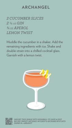 Cocktails To Try, Fancy Drinks, Craft Cocktails, Summer Cocktails, Cocktail Drinks, Yummy Drinks, Cocktail Recipes, Gin And Tonic, Beverages