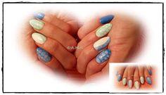 Manicure hybrydowy - Snake skin