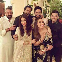 Bipasha, Karan, Sanju Baba and Rocky S, Aish & Abhi @Bollywood ❤❤❤