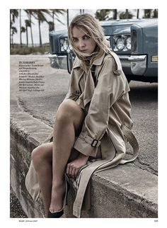 Heather Marks Charms in ELLE Germany's February 2017 issue