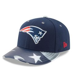 New England Patriots New Era 2017 NFL Draft Spotlight Low Profile 59FIFTY Fitted Hat - Navy