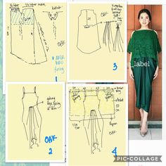 34 Ideas For Sewing Patterns Skirt Easy Kebaya Lace, Kebaya Dress, Kaftan Pattern, Pants Pattern, Skirt Patterns Sewing, Clothing Patterns, Skirt Sewing, Pola Rok, Batik Fashion