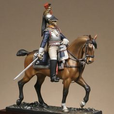 Versions cavaliers : Officer of cuirassiers 1813