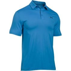 Under Armour Playoff Polo in Brilliant Blue as seen on Jordan Spieth