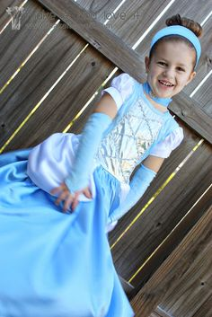 Free Cinderella Halloween Costume Pattern and 20 other princess patterns