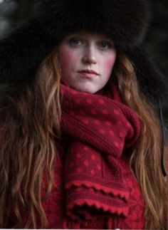 Oleana Knits - pretty color combo