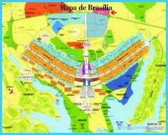 cool Map of Brasilia