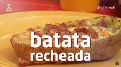 1001 Dicas Gastronômicas ensina a receita de Batata recheada
