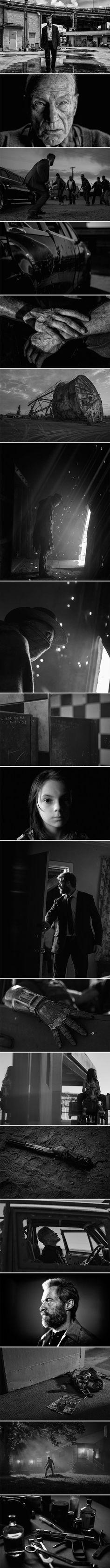 Logan [Noir] (2017) ● Director - James Mangold ● Cinematographer - John Mathieson