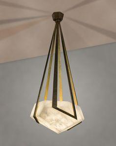 Les arts décoratifs Lustre Galatée, Herve Van der Straeten