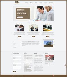 """O projeto """"TBS – Tax Business Solutions"""" teve inicio em 2010, com o objetivo de montar uma equipe especializada em assuntos tributários para oferecer novas soluções ao mercado. Para esse cliente foi desenvolvido um site em WordPress. Confira: www.tbsconsultoria.com.br"""