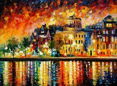 COPENHAGEN - PALETTE KNIFE Oil Painting On Canvas By Leonid Afremov http://afremov.com/COPENHAGEN-PALETTE-KNIFE-Oil-Painting-On-Canvas-By-Leonid-Afremov-Size-24-x30.html?utm_source=s-pinterest&utm_medium=/afremov_usa&utm_campaign=ADD-YOUR