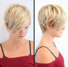 30 Short Hairstyles for Winter: Textured Layered Haircut