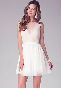 Super cute seersucker dress! I would wear a white shrug with this ...