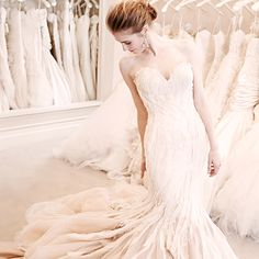 507d175d2eb6 This Mark Zunino Gown sold during the Sample Sale. Kleinfeld Bridal